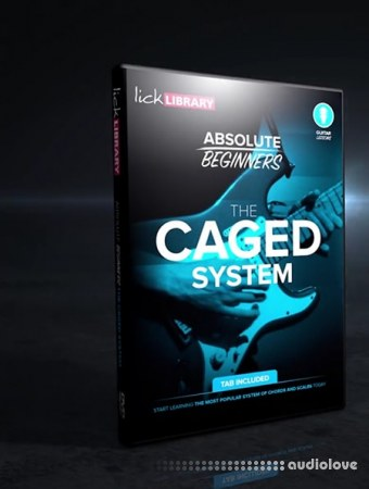 Lick Library CAGED System for Absolute Beginners TUTORiAL