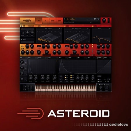 Delicate Beats Asteroid Synth Presets