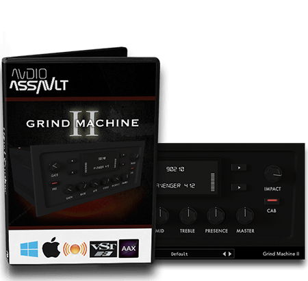 Audio-Assault Grind Machine II v1.2 WiN MacOSX