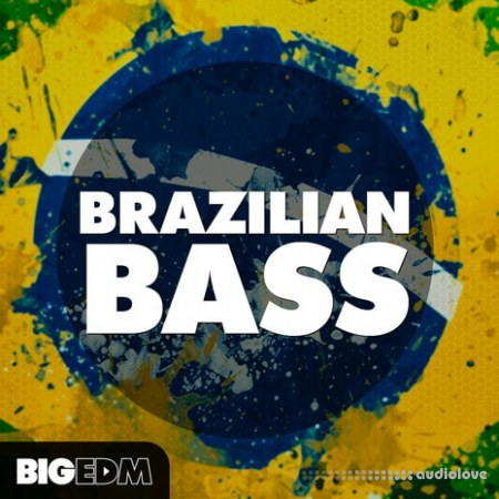 Big EDM Brazilian Bass WAV MiDi Synth Presets
