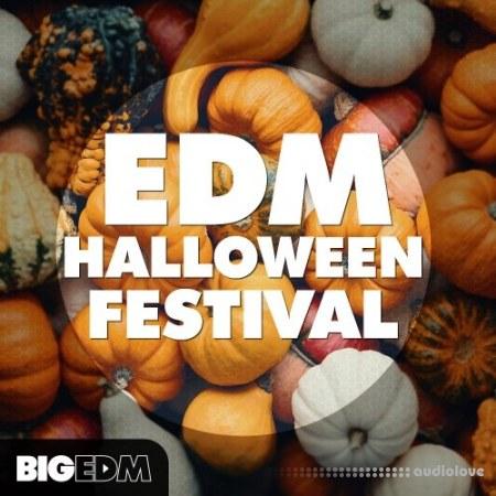 Big EDM EDM Halloween Festival WAV MiDi Synth Presets