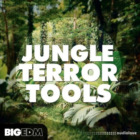 Big EDM Jungle Terror Tools WAV MiDi Synth Presets