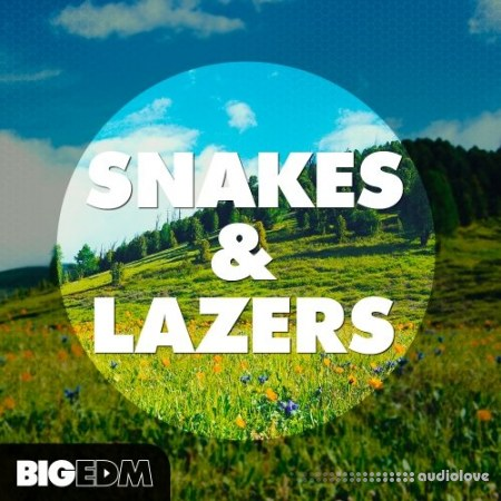 Big EDM Snakes And Lazers WAV MiDi Synth Presets