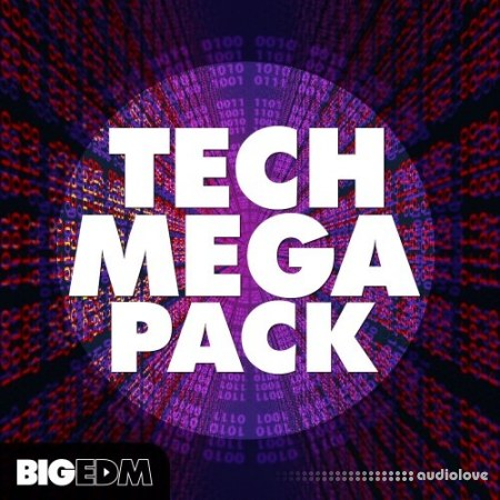 Big EDM Tech Mega Pack WAV MiDi Synth Presets
