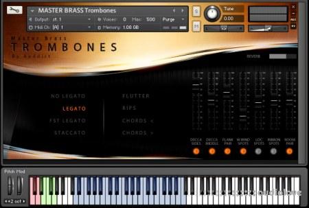Auddict Master Brass Trombones KONTAKT