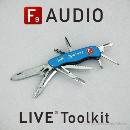 F9 Audio F9 Toolkit for Ableton Live 9+10 Deluxe Edition Ableton Live