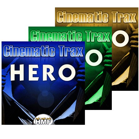 Hot Music Factory Cinematic Trax Hero 1-3 WAV MiDi