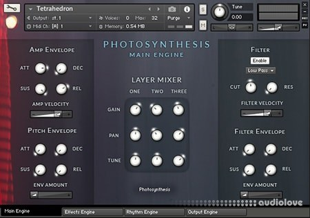 Jeremiah Pena Photosynthesis Vol.1 Sphere v1.4 KONTAKT