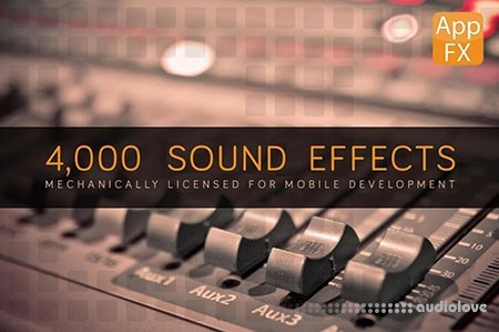 MightyDeals App FX Sound Effects Library with 4.000 Effects MP3