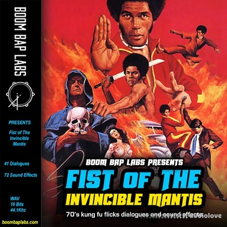 Boom Bap Labs Fist Of The Invincible Mantis Vol.1 WAV