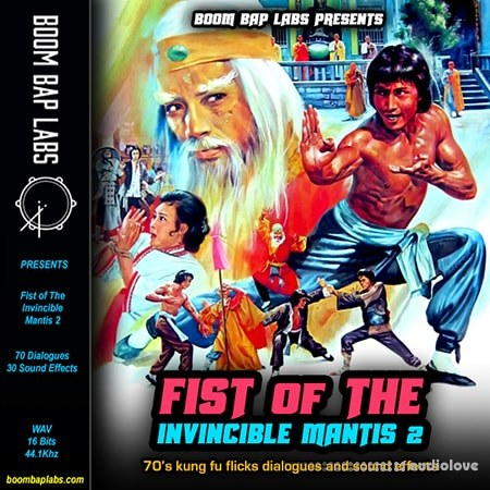 Boom Bap Labs Fist Of The Invincible Mantis Vol.2 WAV