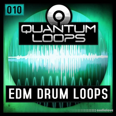Quantum Loops EDM Drum Loops WAV