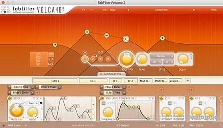 FabFilter Volcano v1.21 WiN MacOSX