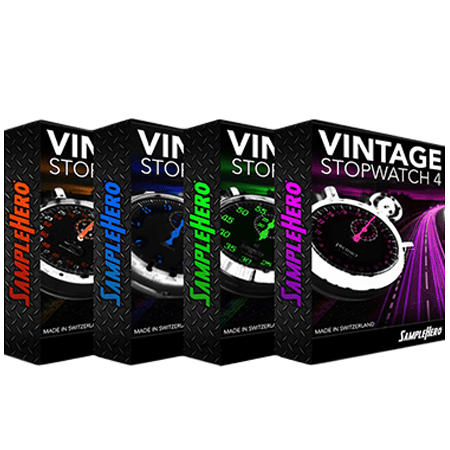 SampleHero Vintage Stopwatch Bundle KONTAKT