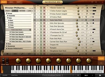 IK Multimedia Miroslav Philharmonik 2 v2.0.5 WiN MacOSX
