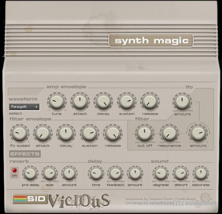 Synth Magic SID Vicious KONTAKT