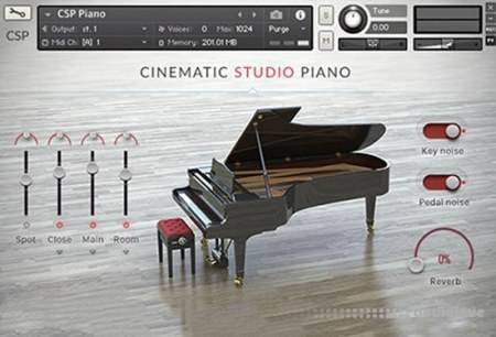 Cinematic Studio Series Cinematic Studio Piano KONTAKT