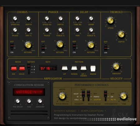 Synth Magic ARP Exploration 1 KONTAKT