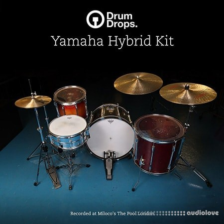 DrumDrops Yamaha Hybrid Single Hits Pack MULTiFORMAT