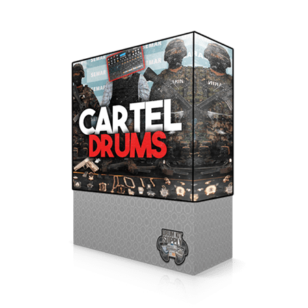 DrumKitsupply Cartel Drums and Sample Pack WAV
