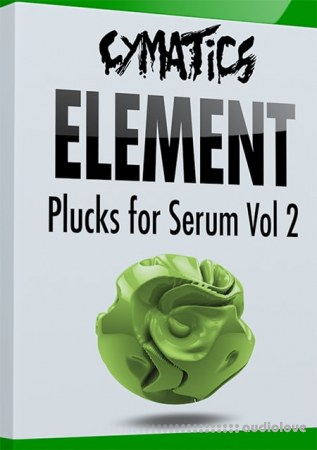 Cymatics Element Plucks for Serum Vol.2 Synth Presets