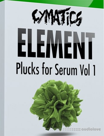 Cymatics Element Plucks for Serum Vol.1 Synth Presets