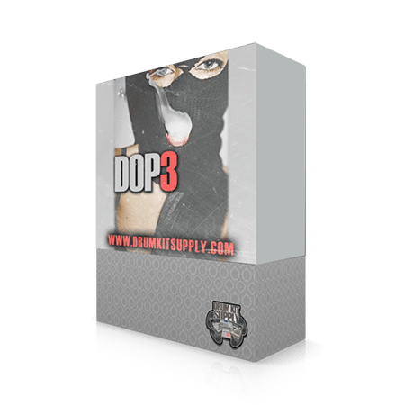 DrumKitsupply Dope 3 Drum Kit and Sample Pack WAV