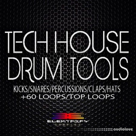 Elektrify Samples Tech House Drum Tools WAV