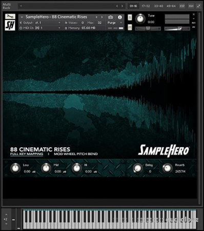SampleHero 88 Cinematic Rises KONTAKT