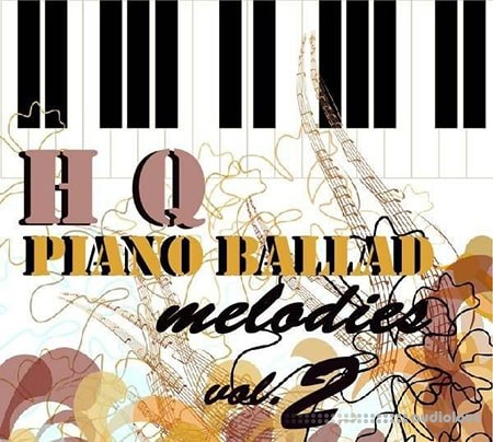 JPlanet Entertainment HQ Piano Ballad Melodies v2 MiDi