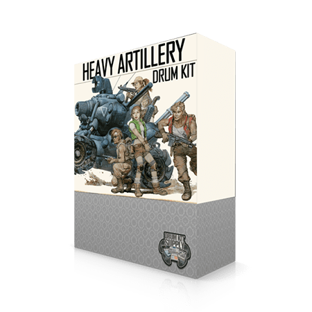 DrumKitsupply Heavy Artillery Drum Kit WAV
