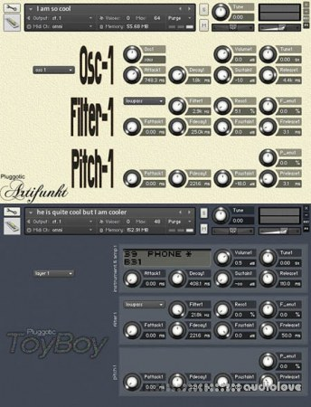 Pluggotic Synth Bundle KONTAKT