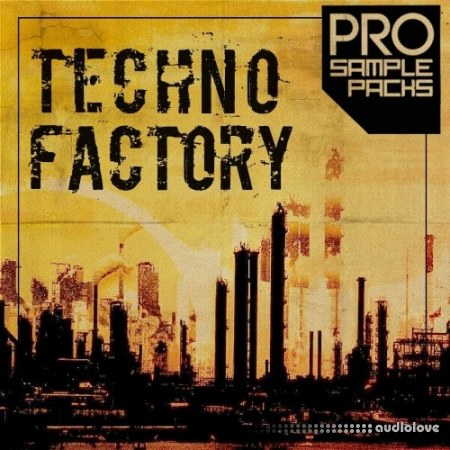 Pro Sample Packs Techno Factory WAV MiDi Synth Presets