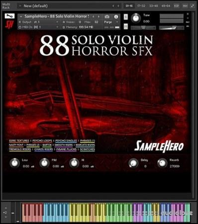 SampleHero 88 Solo Violin Horror SFX KONTAKT