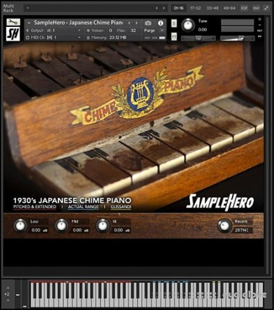 SampleHero Japanese Chime Piano KONTAKT