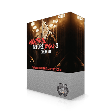DrumKitsupply Nightmare Before Xmas 3 Drum Kit WAV