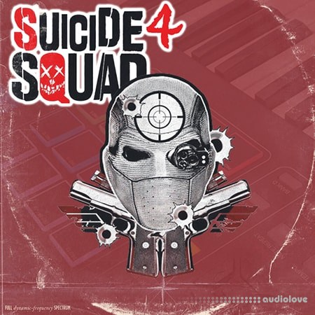 DrumKitsupply Suicide Squad 4 Drum Kit and Sample Pack WAV