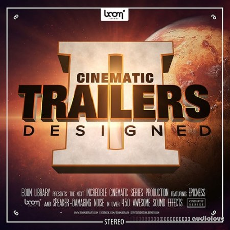 Boom Library Cinematic Trailers Designed 2 Stereo and Surround WAV