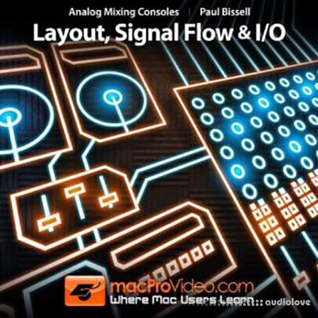macProVideo Analog Mixing Consoles: Layout Signal Flow and I/O TUTORiAL