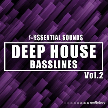 Essential Sounds Deep House Basslines Vol.2 WAV MiDi