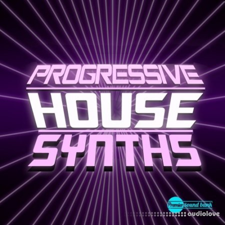 Premier Sound Bank Progressive House Synths WAV