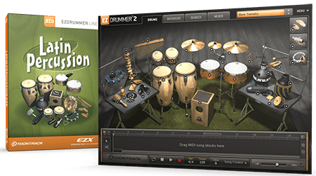 Toontrack EZdrummer EZX Latin Percussion v1.5.1 WiN MacOSX