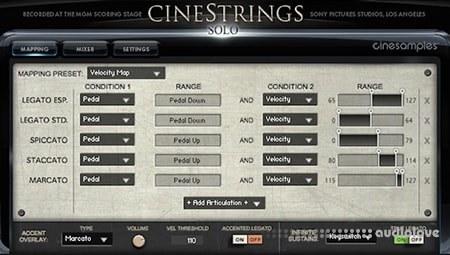 Cinesamples CineStrings Solo KONTAKT