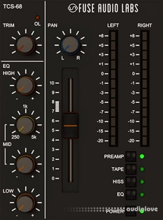 Fuse Audio Labs TCS-68 v1.3.0 CE WiN
