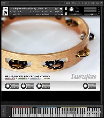 SampleHero Recording Combo Tambourine KONTAKT