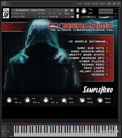SampleHero Cyber Crime KONTAKT