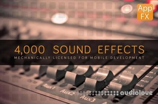 MightyDeals App FX Sound Effects Library with 4.000 Effects