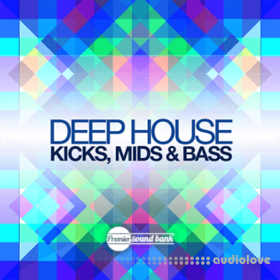 Premier Sound Bank Deep House Kicks Mids and Bass