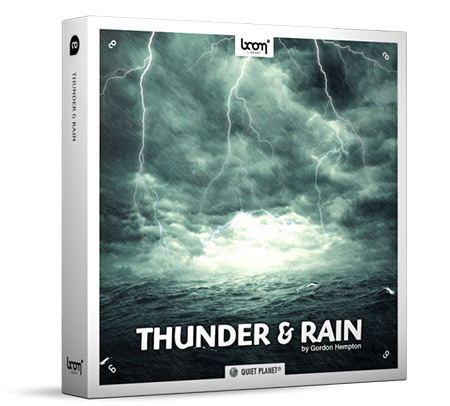 Boom Library Thunder and Rain WAV