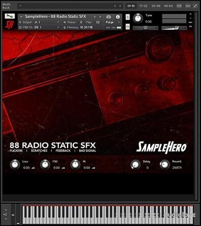 SampleHero 88 Radio Static SFX KONTAKT